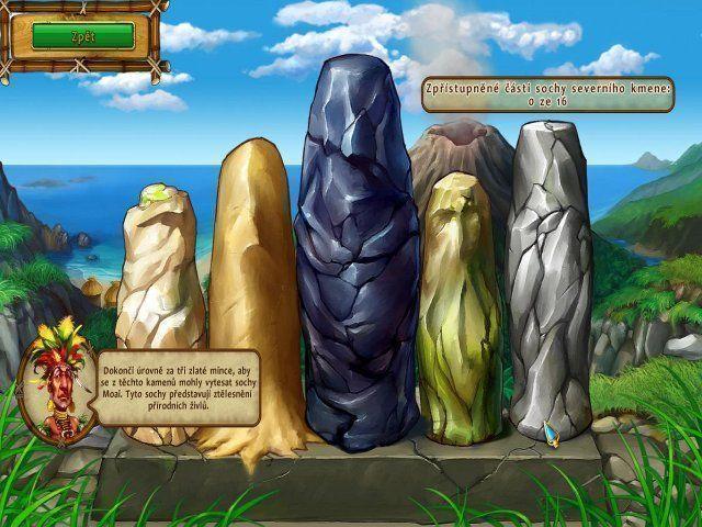 Moai: Postav si svuj sen gra