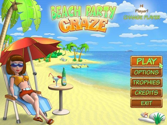 Скачать бесплатно Игру Пляжный Переполох / Beach Party Craze (полная русска