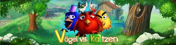 Vögel vs. Katzen