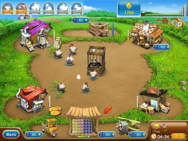 Screenshot  «Farm Frenzy 2» № 3