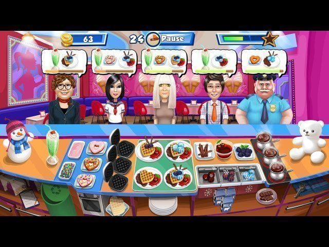 Screenshot  «Happy Chef 3» № 3