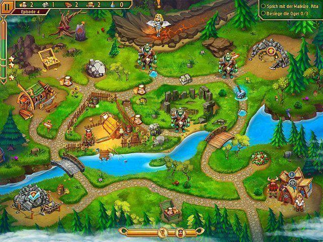 Screenshot  «Im Land der Wikinger 3» № 8