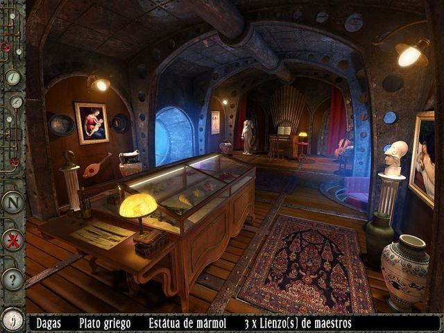 20000 Leagues Under the Sea: Captain Nemo en Español game
