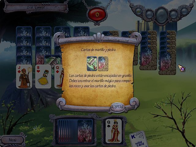 Avalon Legends Solitaire download free en Español