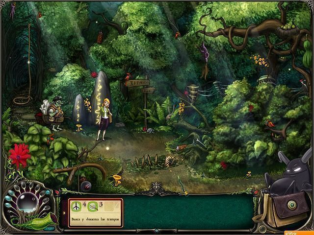 Brunhilda and the Dark Crystal en Español game