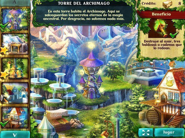 Jewel Legends: Magical Kingdom en Español game