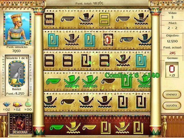 Mysteries Of Horus en Español game