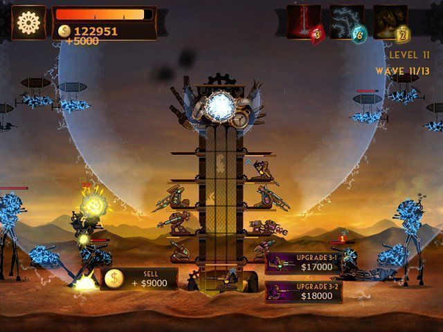 Steampunk Tower download free en Español