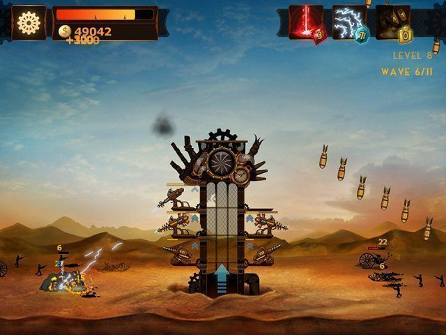 Steampunk Tower en Español game