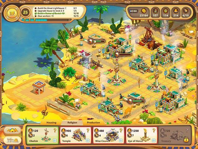 Bezpłatne pobieranie Ramses: Rise of Empire. Collector's Edition