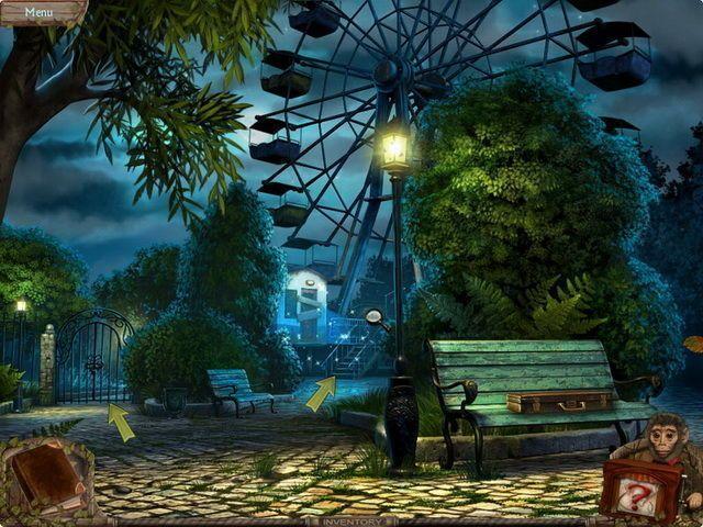 Tajemný park: Zlomená deska