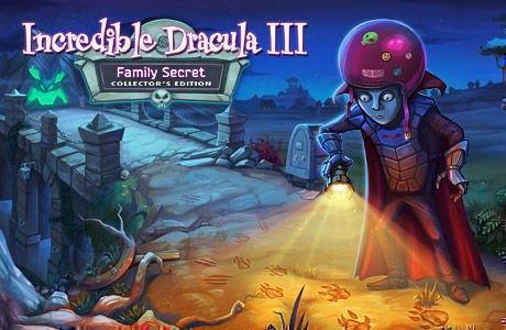 Incredible Dracula III: Family Secret. Collector's Edition
