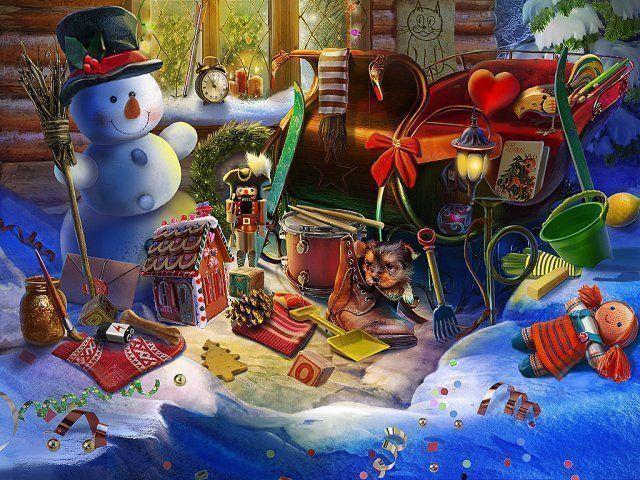 Świąteczna przygoda: Burza słodyczy